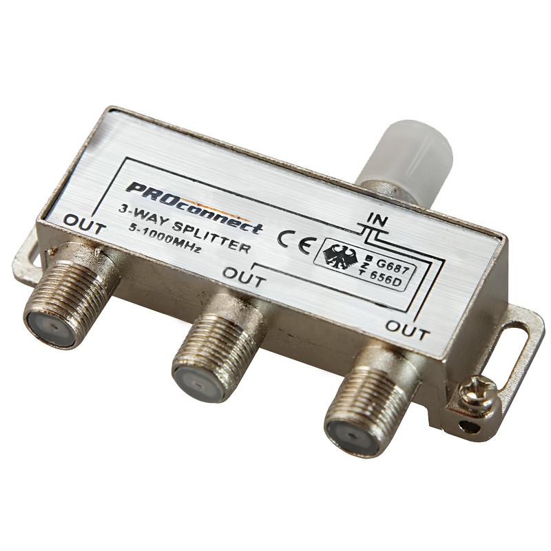 Сплиттер ProConnect 5-1000 MHz 05-6022-9