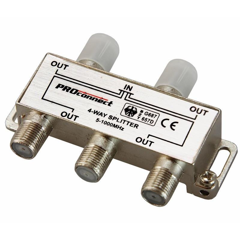 Сплиттер ProConnect 5-1000 MHz 05-6023-9 цена в Москве и Питере