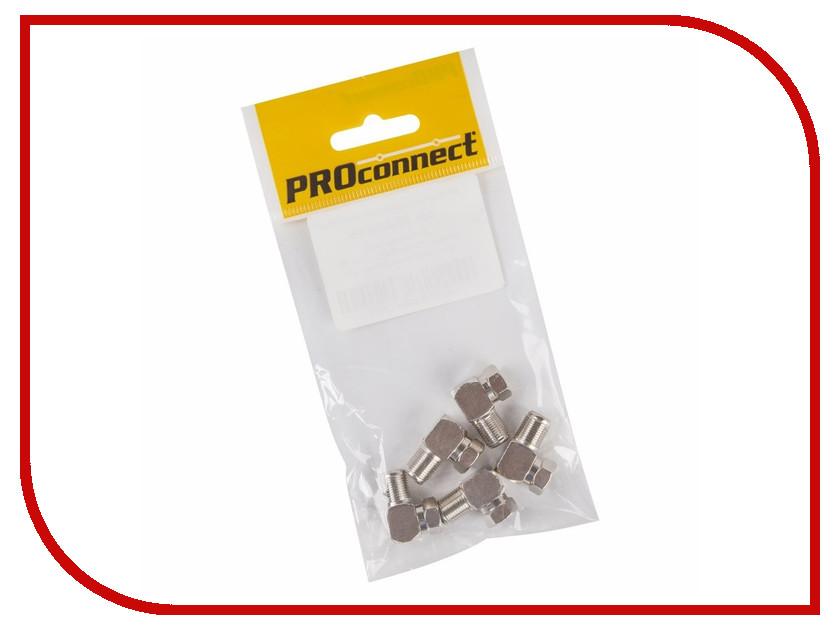 Переходник ProConnect F/F угловой 5шт 05-4203-4-9 аксессуар proconnect f тройник 05 4204 4 7