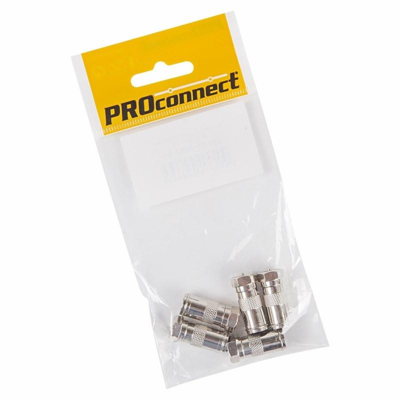 Переходник ProConnect F/TV 05-4362-4-9 разъем proconnect f rg 6 05 4003 6 7