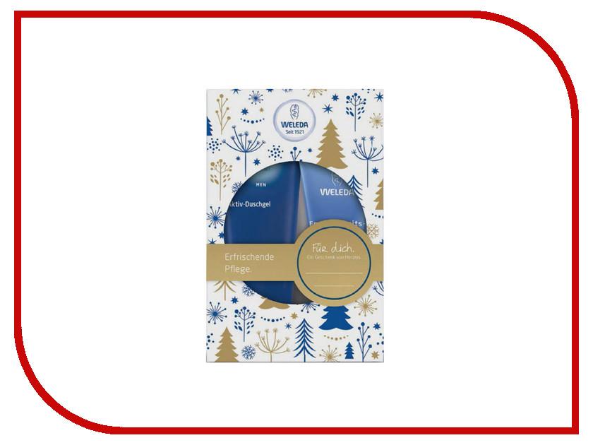 Средство Weleda Натуральный уход для мужчин подарочный набор 7508 пилинг weleda березовый для душа отзывы