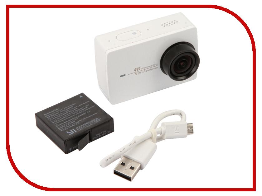 Экшн-камера YI 4K White