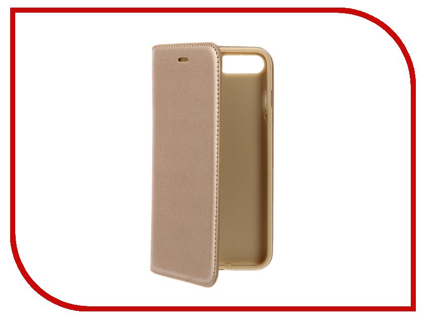 Аксессуар Чехол Cojess Book Case New для APPLE iPhone 7 Plus Gold