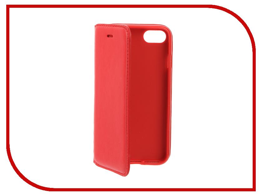 Аксессуар Чехол Cojess Book Case New для APPLE iPhone 7 / 7s Red<br>