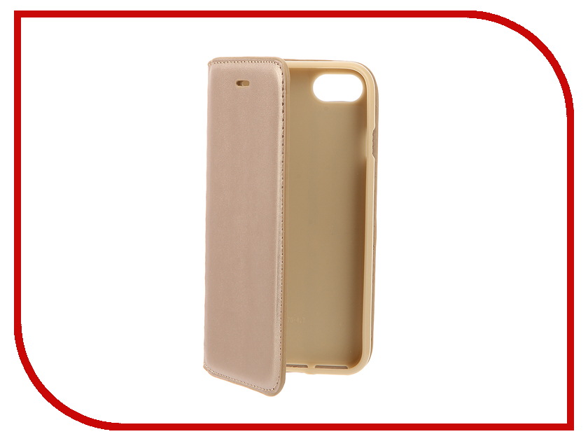 Аксессуар Чехол Cojess Book Case New для APPLE iPhone 7 / 7s Gold<br>