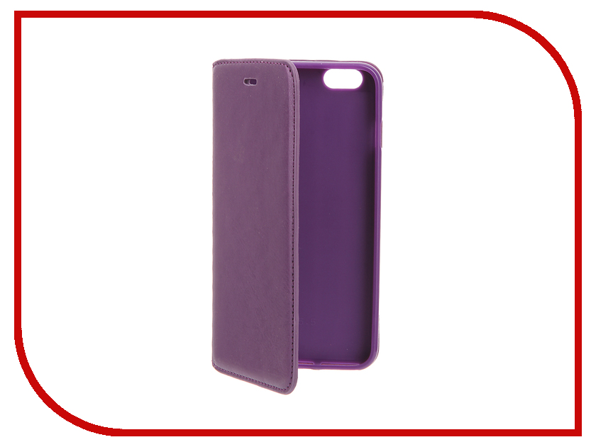 Аксессуар Чехол Cojess Book Case New для APPLE iPhone 6 Plus / 6s Plus Purple<br>
