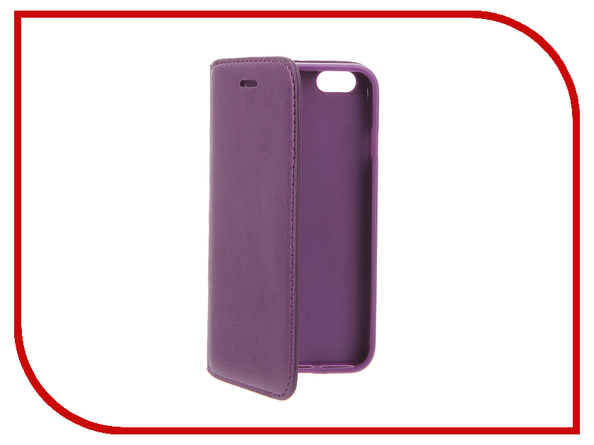 Аксессуар Чехол Cojess Book Case New для APPLE iPhone 6 / 6s Purple<br>