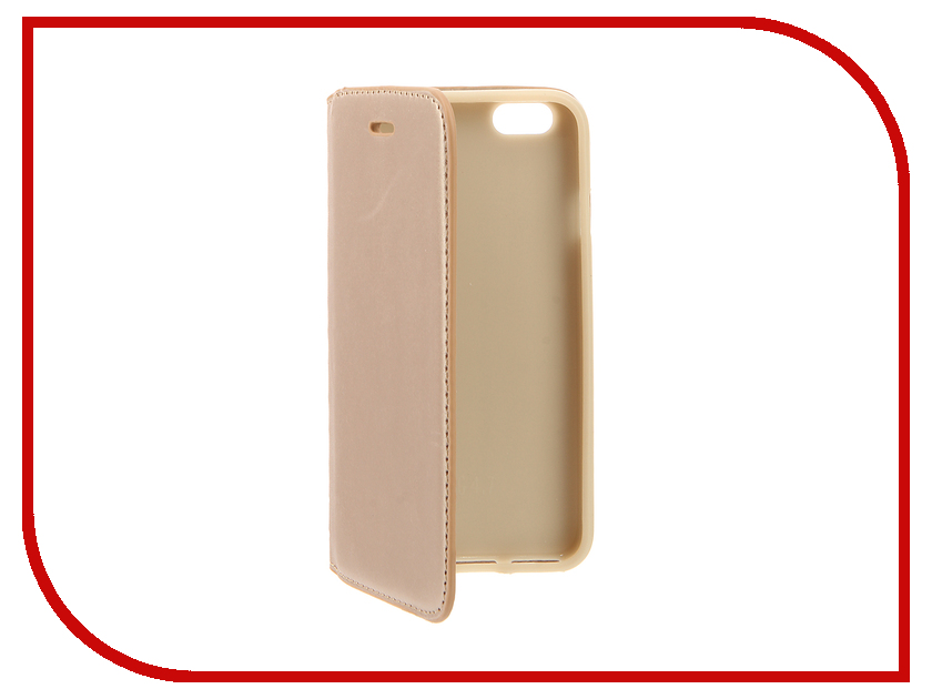 Аксессуар Чехол Cojess Book Case New для APPLE iPhone 6 / 6s Gold<br>