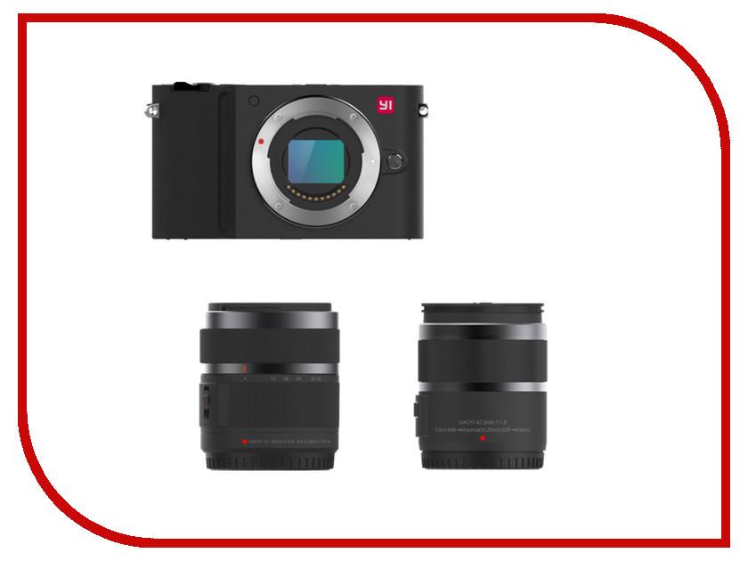 Фотоаппарат Xiaomi Xiaoyi Yi M1 42.5mm F/1.8 / 12-40mm F/3.5-5.6 Black