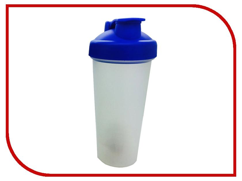 Шейкер Спортивный Элемент S01-600 600ml Transparent-Blue-Blue<br>