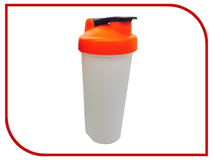 Шейкер Спортивный Элемент S01-600 600ml White Transparent-Orange-Black<br>