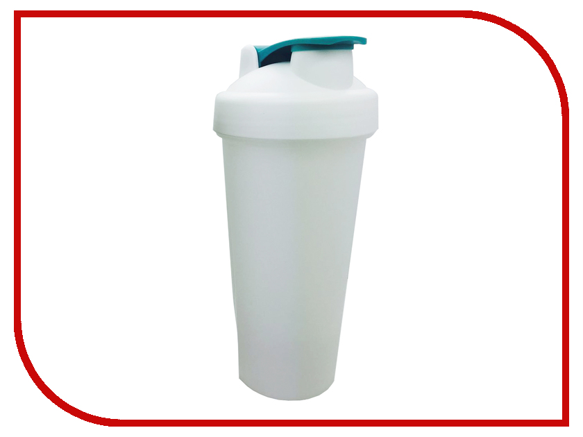 Шейкер Спортивный Элемент S01-600 600ml White Transparent-White-Turquoise