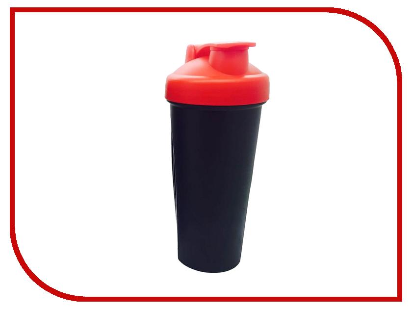Шейкер Спортивный Элемент S01-600 600ml Black-Scarlet-Scarlet<br>