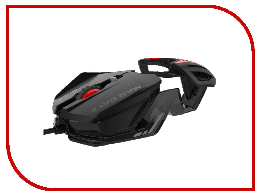 Мышь Mad Catz RAT 1 Black-Red MCB4373800A3/06/1