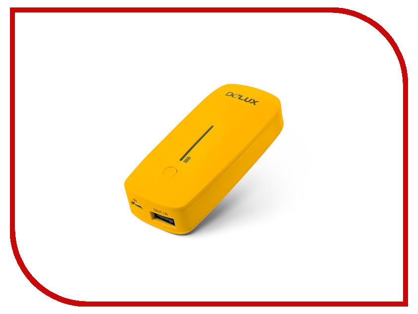 Аккумулятор Delux 5200mAh Yellow DLP-09 аккумулятор ice q 5200mah aero 5200 b