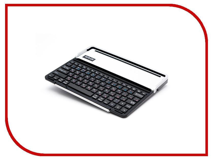 Аксессуар Клавиатура Delux PKO1B IStation Standard Black колонка delux dls q10bb