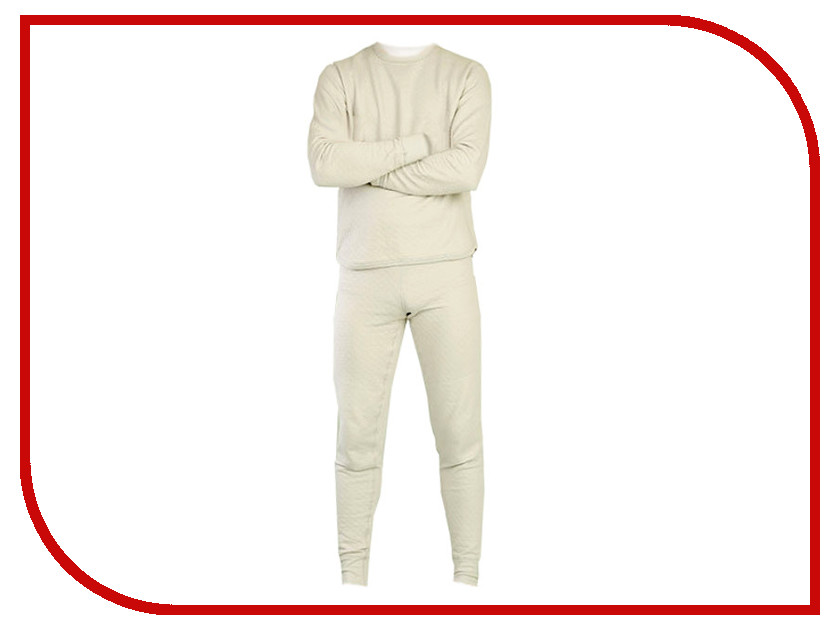 Термобелье CRATEX S size White 361301