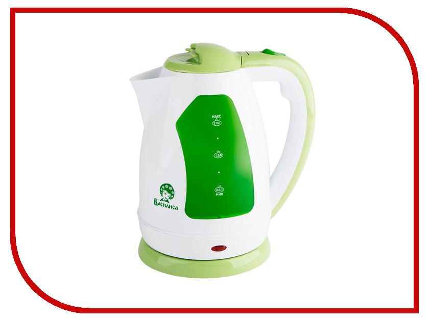 Чайник Василиса Т2-1500 White-Green<br>