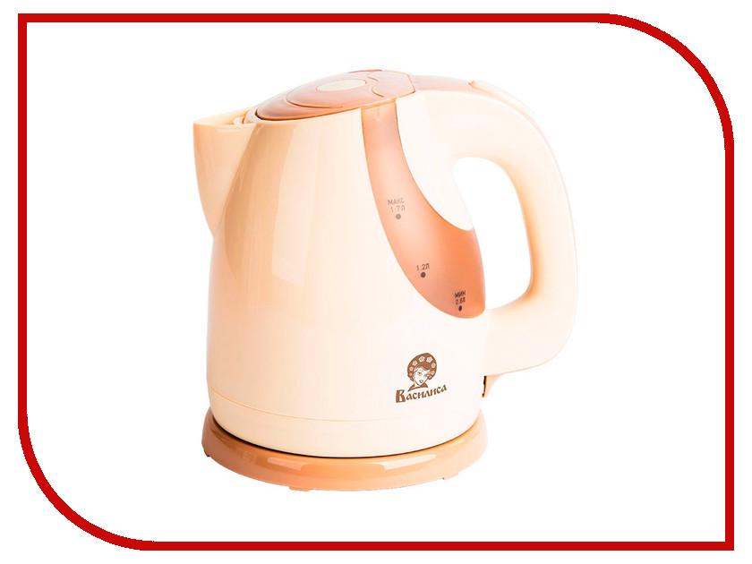 Чайник Василиса Т23-2200 Beige вафельница василиса венская в5 700 beige