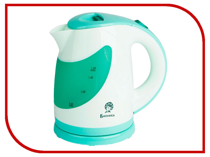 Чайник Василиса Т25-2200 White-Green<br>