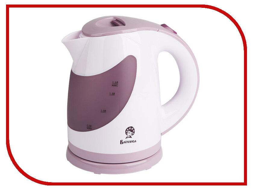 Чайник Василиса Т26-2200 White-Violet<br>