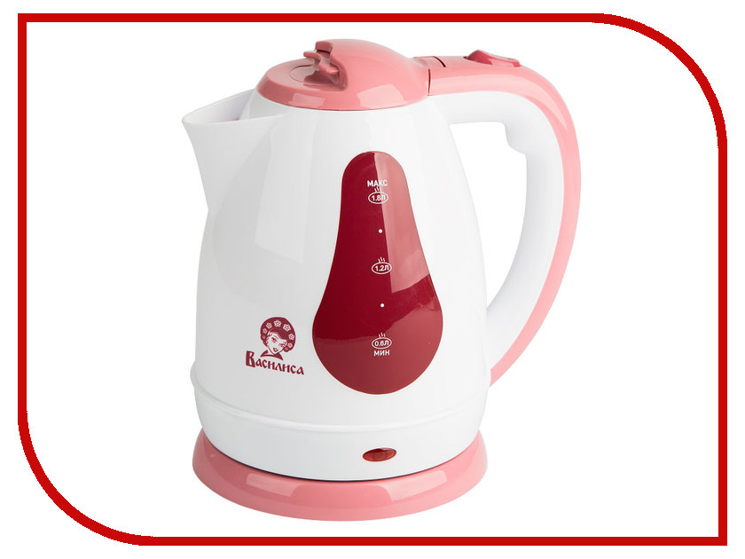 Чайник Василиса Т3-1500 White-Pink