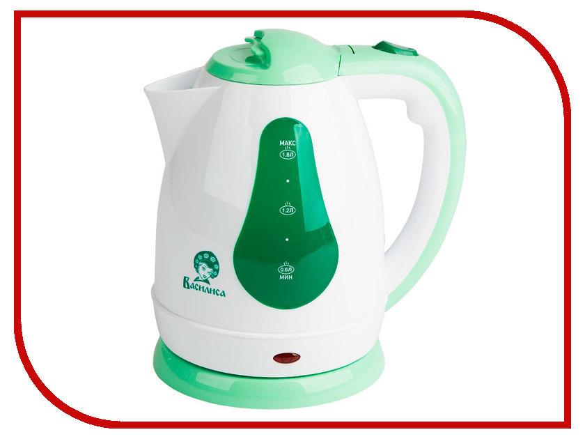 Чайник Василиса Т3-1500 White-Green<br>