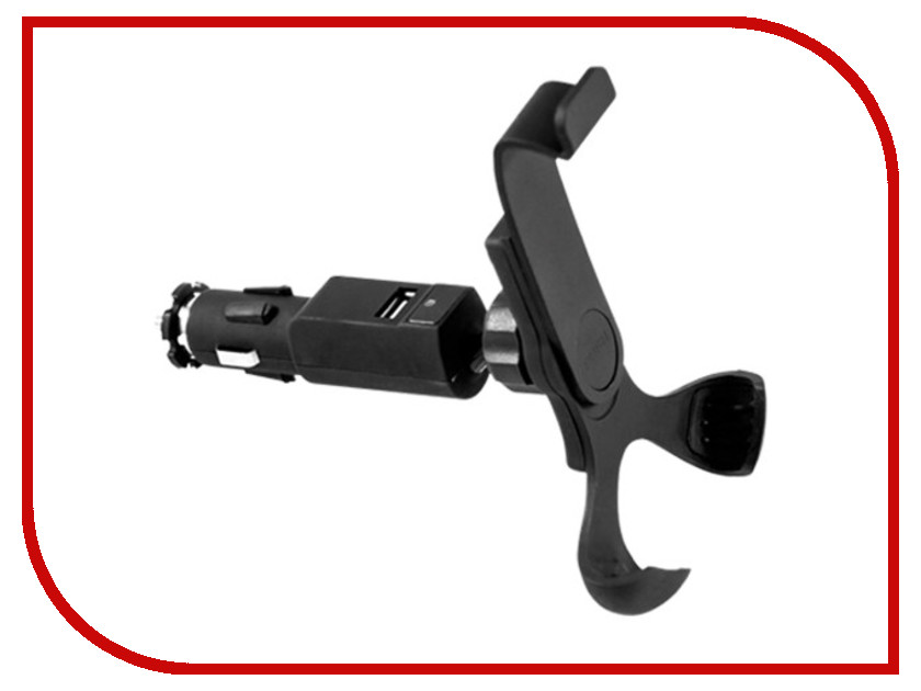 Держатель Nova Bright USB 110-140mm 44461