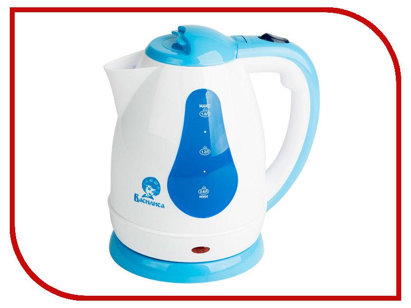 Чайник Василиса Т3-1500 White-Blue<br>