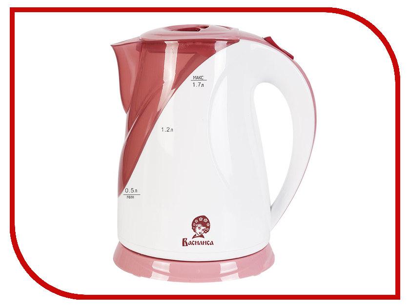 Чайник Василиса Т5-2200 White-Pink<br>