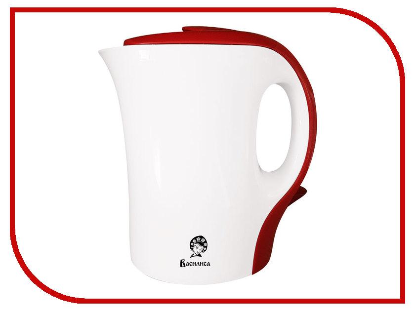 Чайник Василиса T10-1100 White-Red<br>