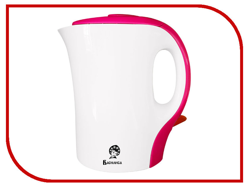 Чайник Василиса T12-1100 White-Pink<br>