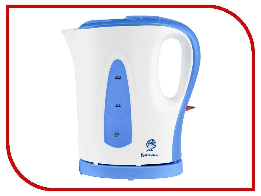 Чайник Василиса T18-1200 White-Blue<br>