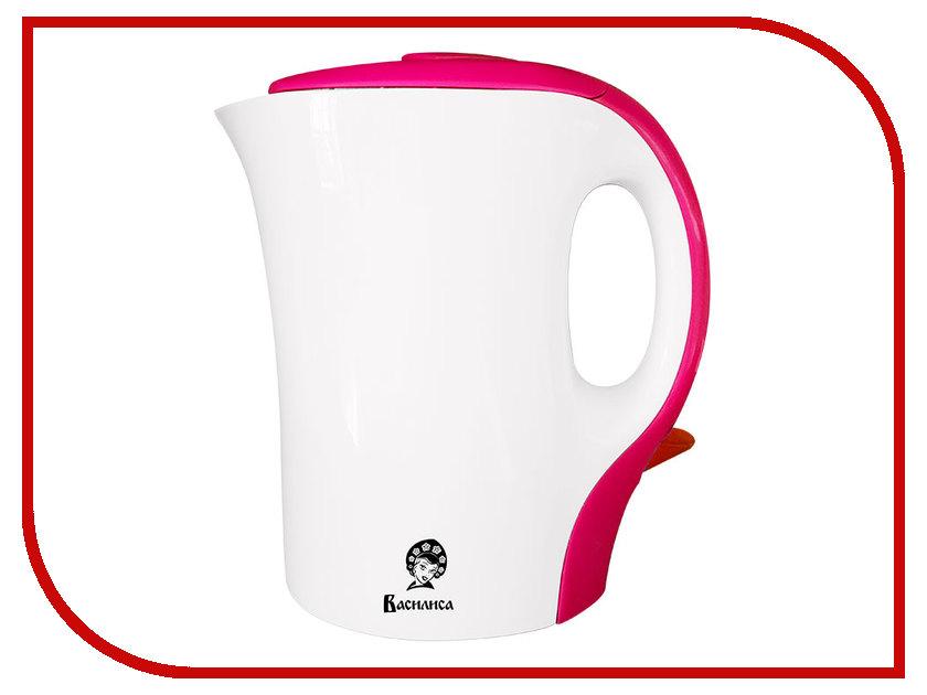 Чайник Василиса T8-1100 White-Pink