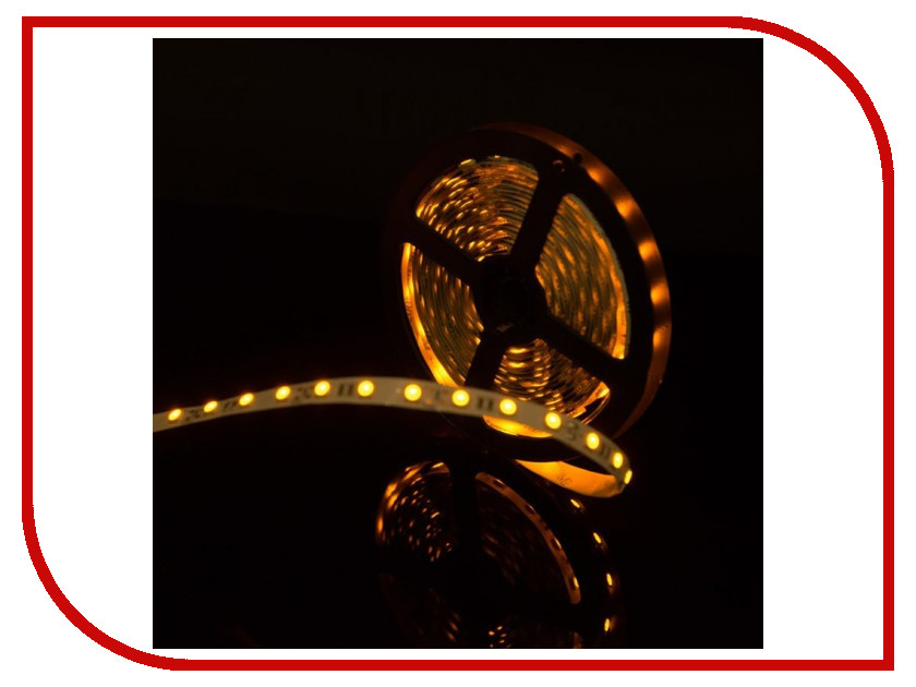 Светодиодная лента SWGroup SMD5050 14.4W 12V 60 LED/m 5m IP20 Yellow