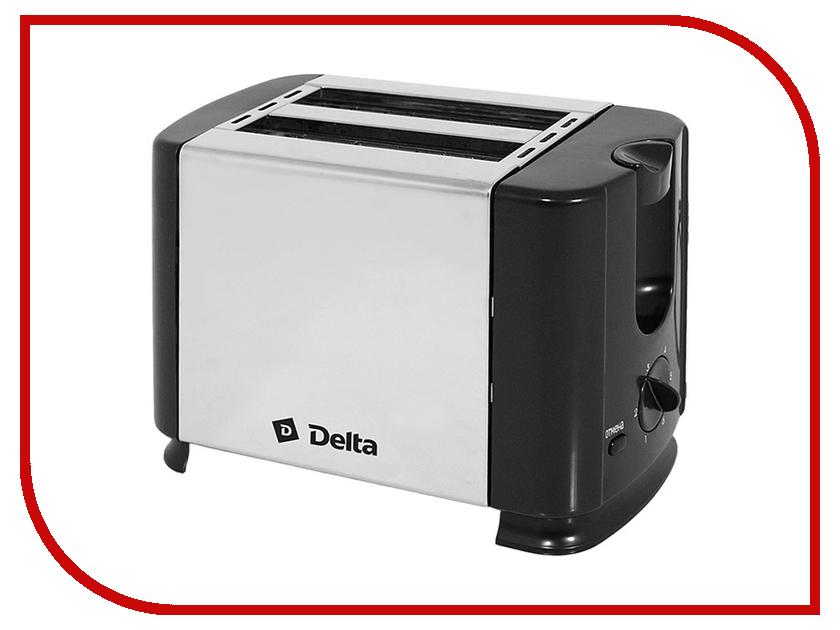 Тостер Delta DL-61 Black тостер delta dl 073 red