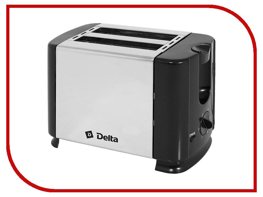 Тостер Delta DL-61 Black цена