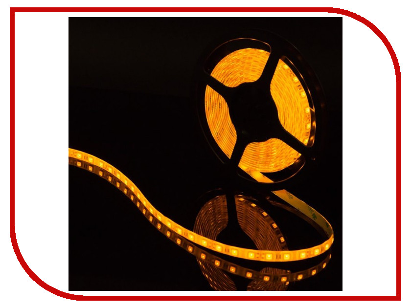 Светодиодная лента SWGroup SMD5050 14.4W 12V 60 LED/m 5m IP65 Yellow