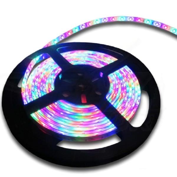 Светодиодная лента SWGroup SMD5050 14.4W 24V 60 LED/m 5m IP20/IP33 RGB блок питания swgroup 75w 24v s 75 24