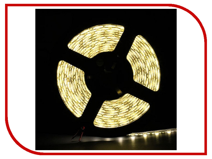 Светодиодная лента SWGroup SMD2835 4.8W 12V 60 LED/m 5m IP65 Warm White<br>