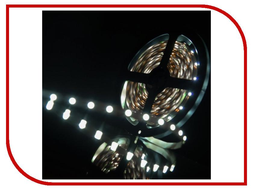 Светодиодная лента SWGroup SMD3528 4.8W 12V 60 LED/m 5m IP20 Cold White<br>
