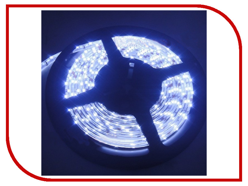 Светодиодная лента SWGroup SMD2835 6.3W 12V 60 LED/m 5m IP20 Cold White<br>
