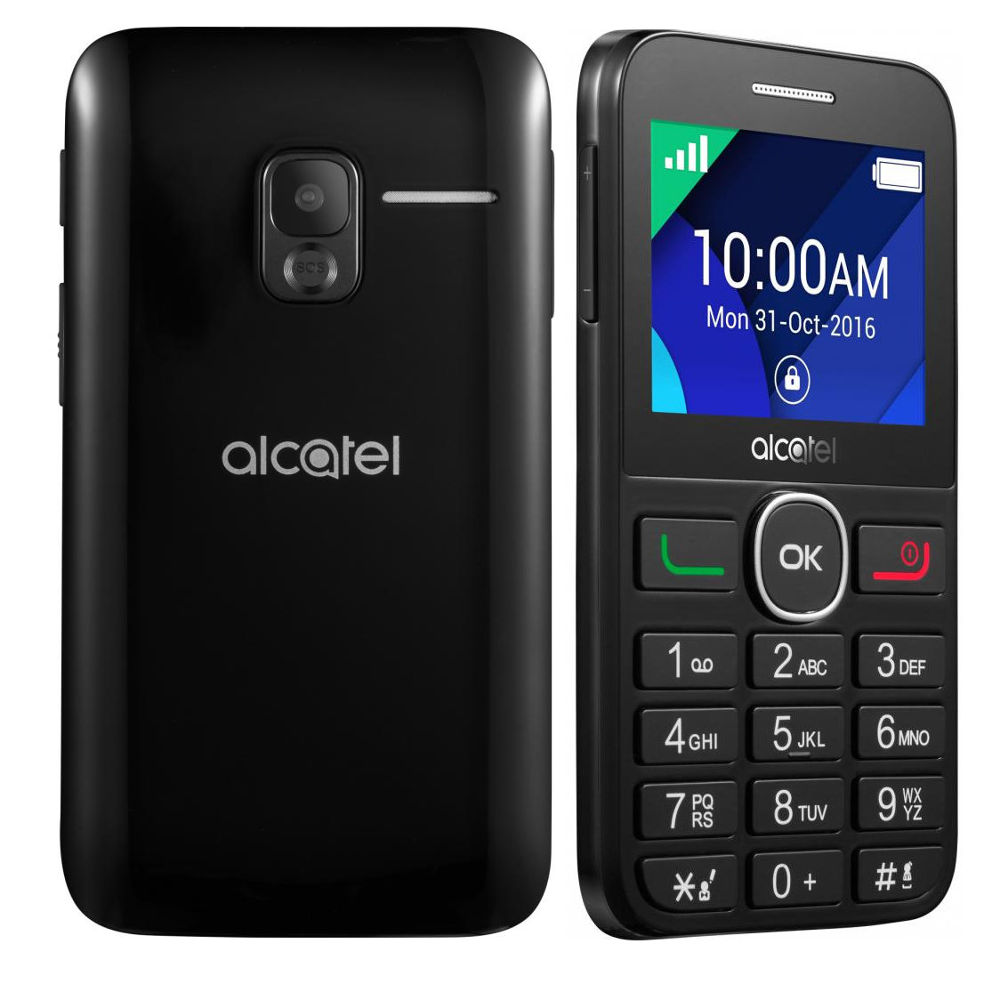 Сотовый телефон Alcatel OneTouch 2008G Full Black