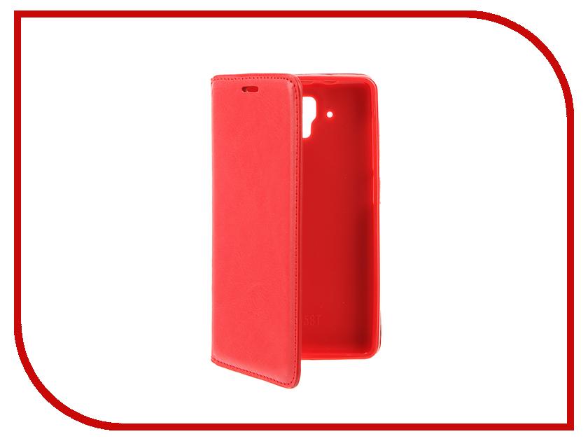 Аксессуар Чехол Lenovo A536 Cojess Book Case New Red new case ne015bwisd22