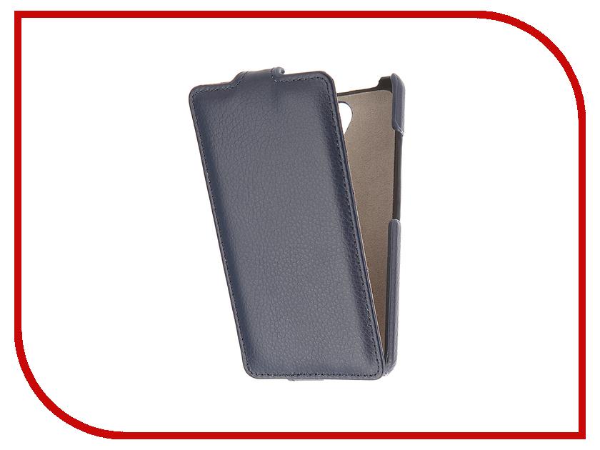 Аксессуар Чехол Lenovo A5000 Cojess UpCase Blue<br>