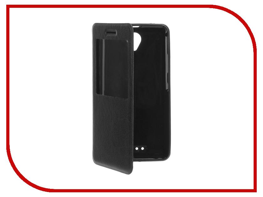 Аксессуар Чехол Lenovo A5000 Cojess Book Case Time Black c окном аккумулятор lenovo pb200 5000