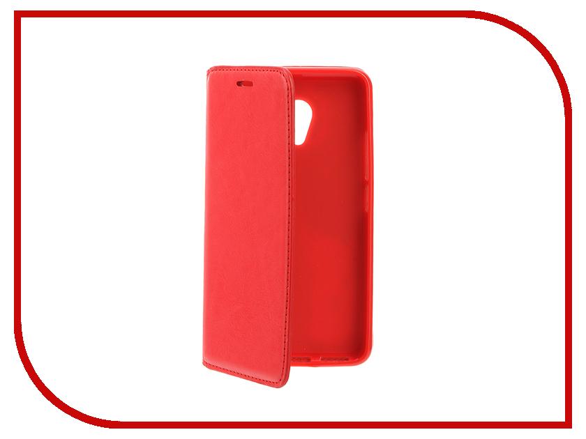 Аксессуар Чехол Meizu M3s / M3 mini / Meilan 3 Cojess Book Case New Red<br>