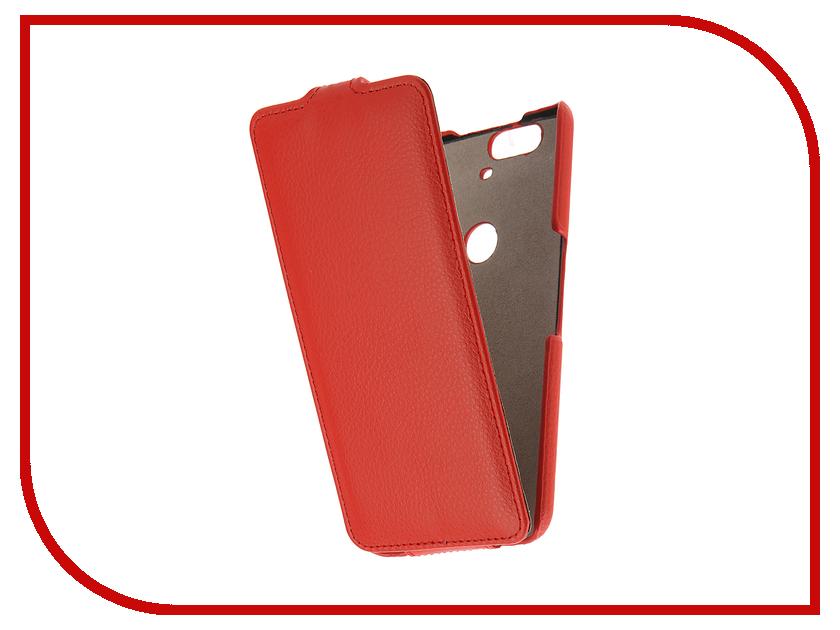 Аксессуар Чехол Huawei Nexus 6P Cojess UpCase Red<br>