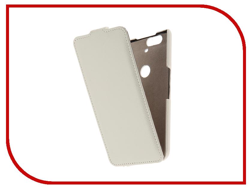 Аксессуар Чехол Huawei Nexus 6P Cojess UpCase White<br>