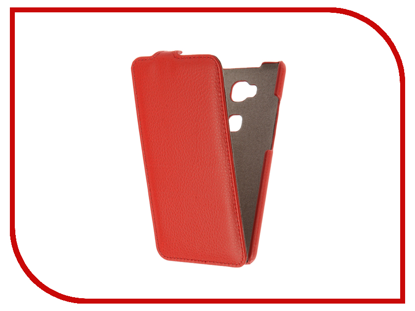 Аксессуар Чехол Huawei Honor 5X Cojess UpCase Red<br>